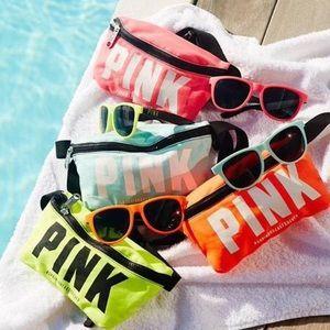 fanny packs neon sunglasses - inspiration