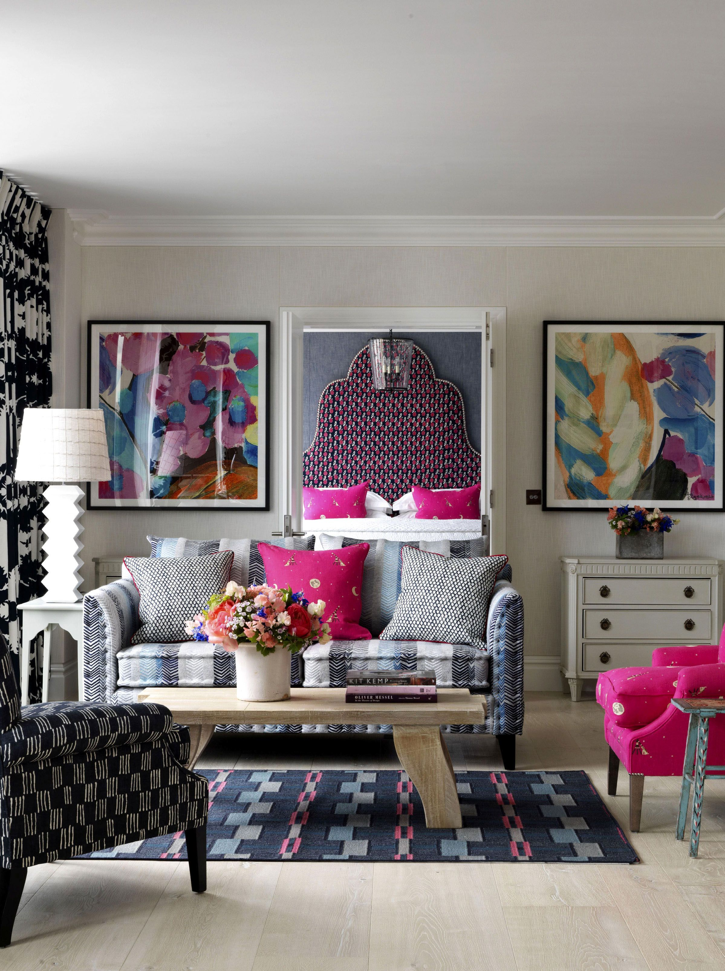 Superbe Colorful, Whimsical Living Space; A Fun Place To Gather For Happy Times.