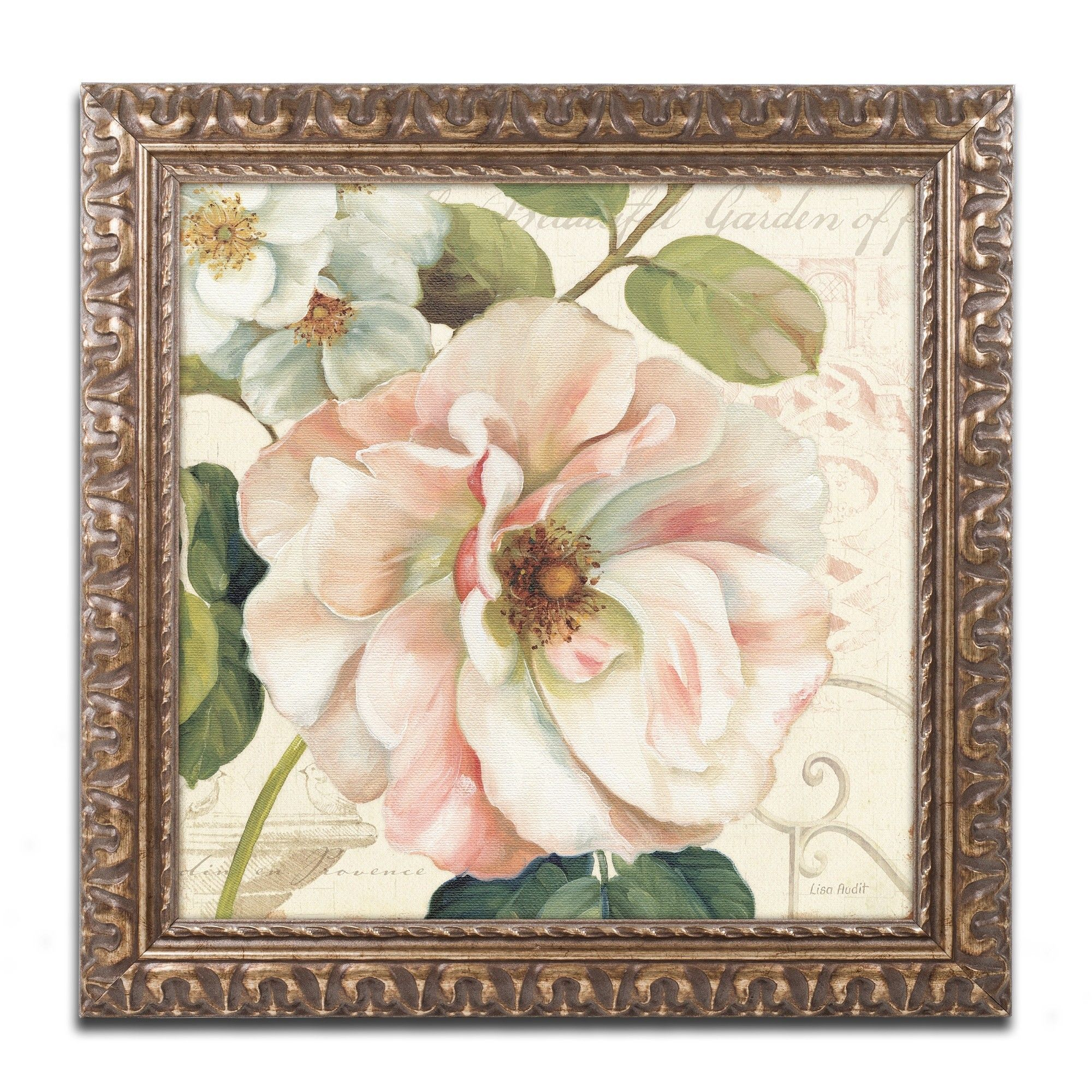 Les jardin ii by lisa audit framed painting print products