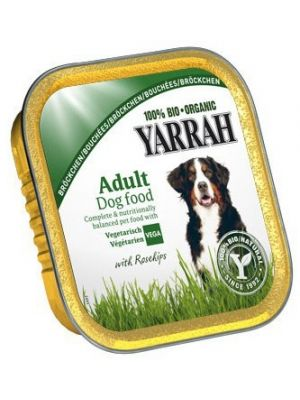 Vege eko karma dla psa dorosłego  • składniki pochodzą z farm i upraw ekologicznych • karma zawiera kawałki kurczaka • kompletna karma dla psów • bogata w składniki mineralne oraz witaminy