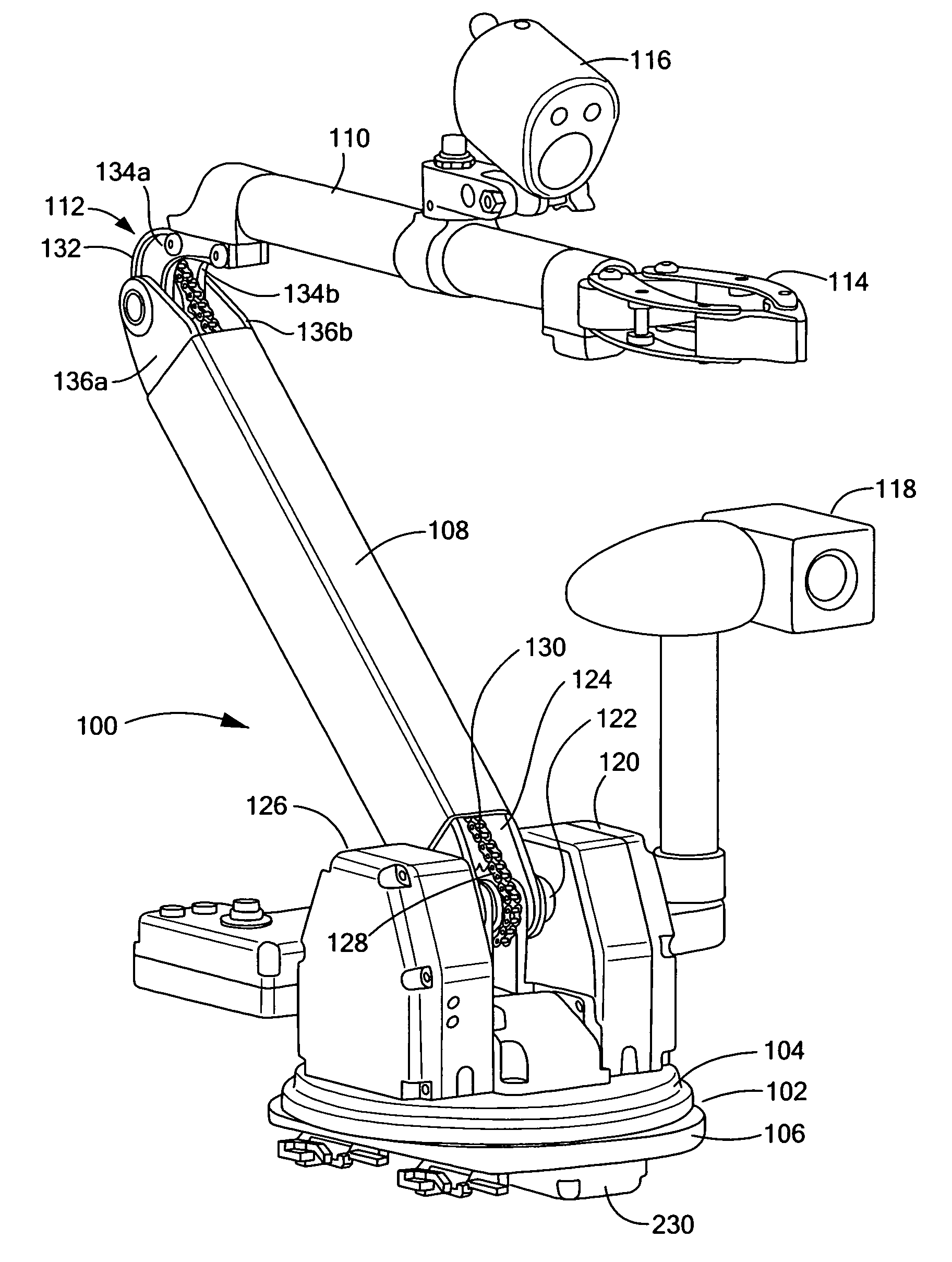 arm the of a assembly arm jacobian robot arm and