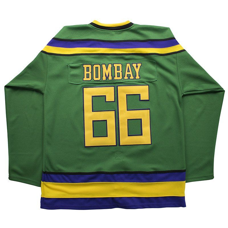 Buy cheap Gordon Bombay jersey online. The hockey jersey is from the movie  The Mighty Ducks. Free Shipping on all orders.Click to see more jerseys for  sale ffd34114e50