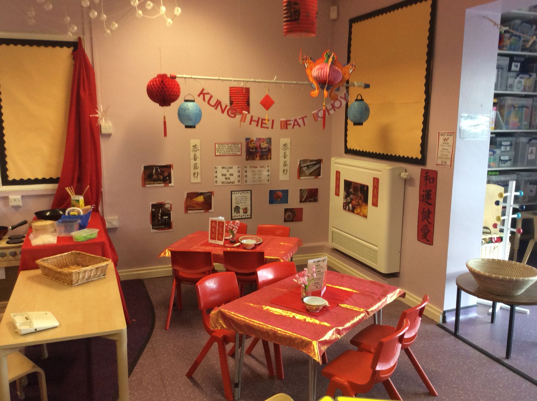 Our Chinese Restaurant to celebrate the CNY | Preschoolers