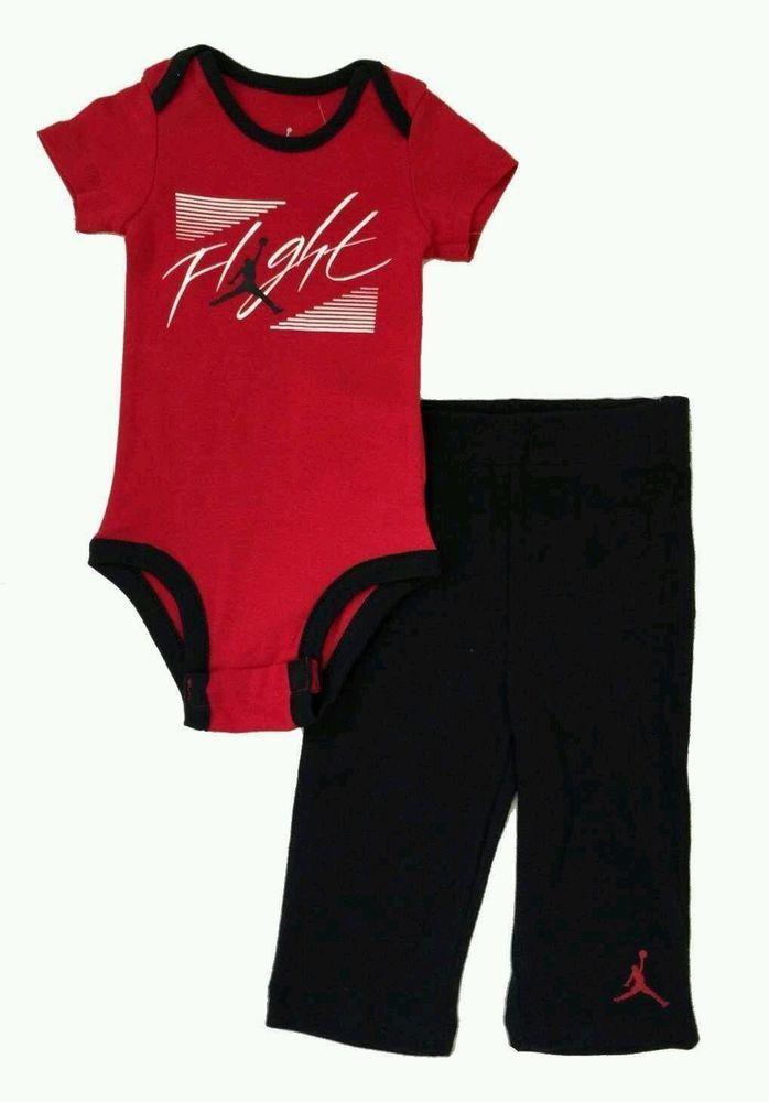 5571cf0e7c #nike air jordan logo #baby #boy romper bodysuit & pants set clothes sz 3-6  months from $29.99