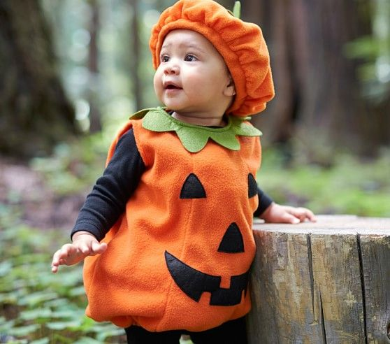 Toddler Pumpkin Costume | Pottery Barn Kids  sc 1 st  Pinterest & Toddler Pumpkin Costume | Pottery Barn Kids | Costumes | Pinterest ...