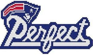 Cross Stitch Knit Crochet Plastic Canvas Waste Canvas Rug Hooking and Bead Work Pattern New England Patriots Football NFL team emblem with a twist.  No better way to make the haters mad.  Stitch it on everything! lol  https://www.pinterest.com/resparkled/