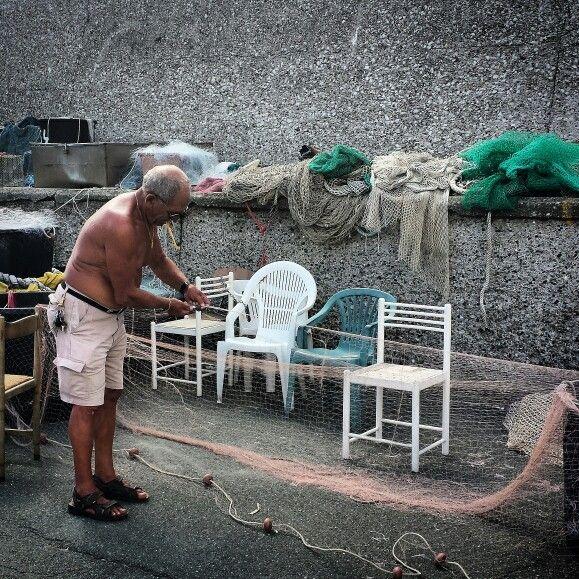 Pescatore a Sestri Levante