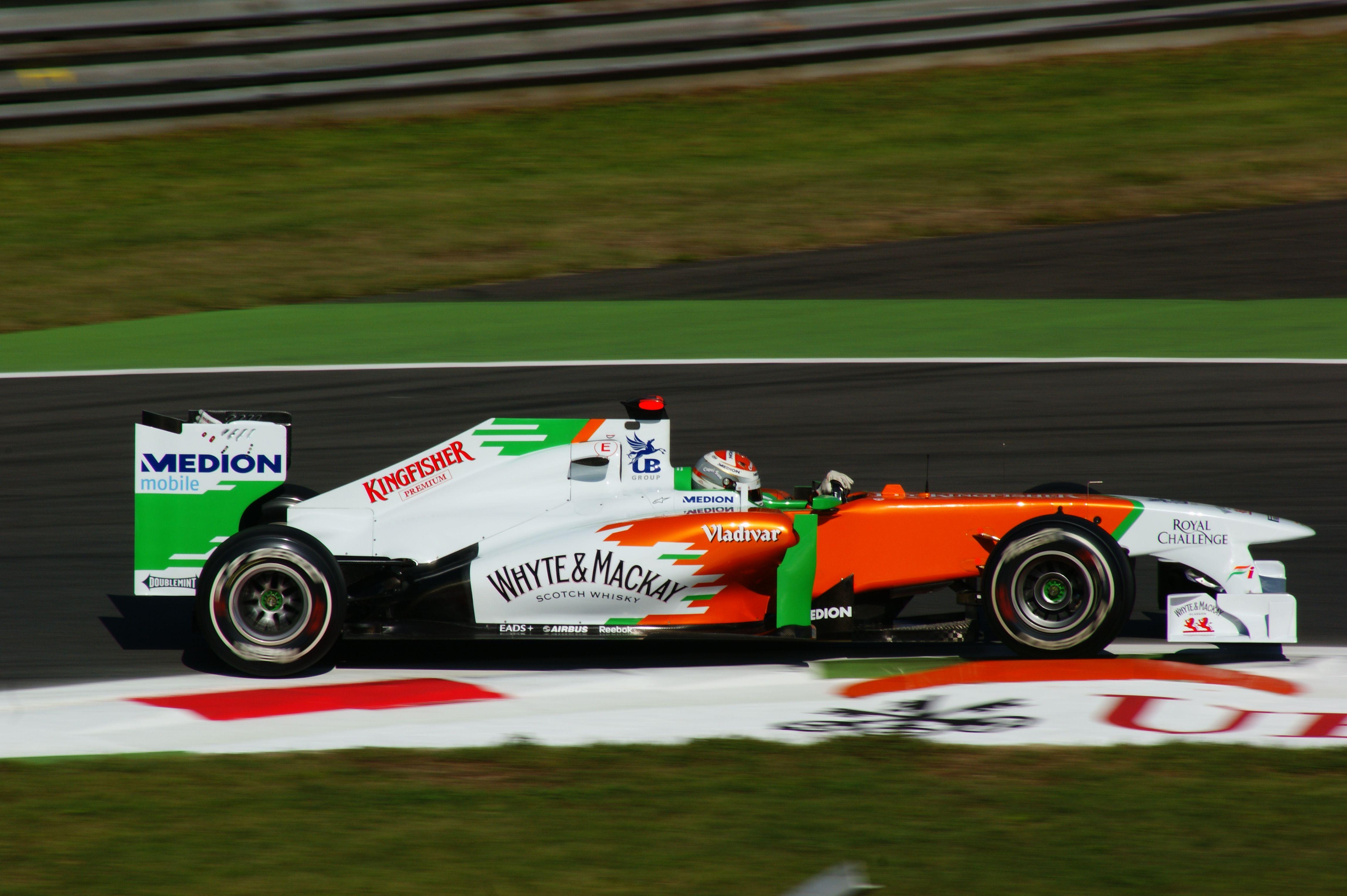 P9: Adrian Sutil (GER) - Force India-Mercedes VJM04 - 42 Points #motorsport #racing #f1 #formel1 #formula1 #formulaone #motor #sport #passion