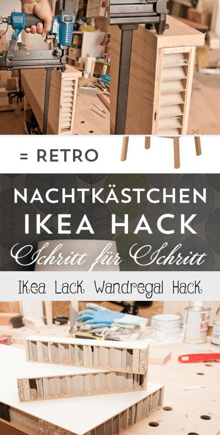 Ikea Lack Wandregal Hack Ikea Lack Ikea Lack Hack Ikea Hack