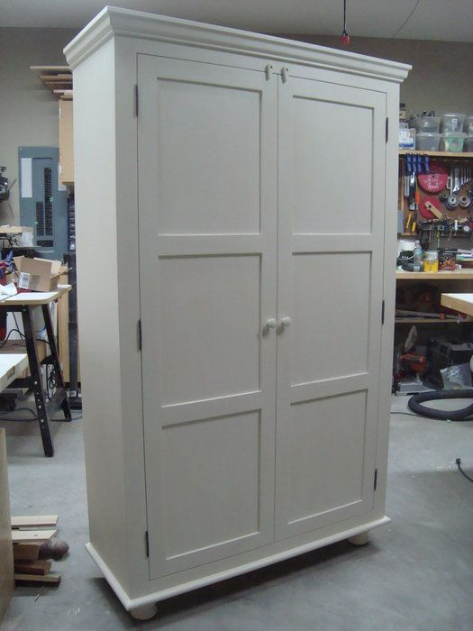 Nice Free Standing Pantry Cabinets | Just Finished This Pantry Unit For .