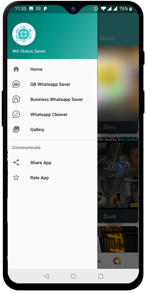 Status Saver & Cleaner For WhatsApp GB WA Business WA