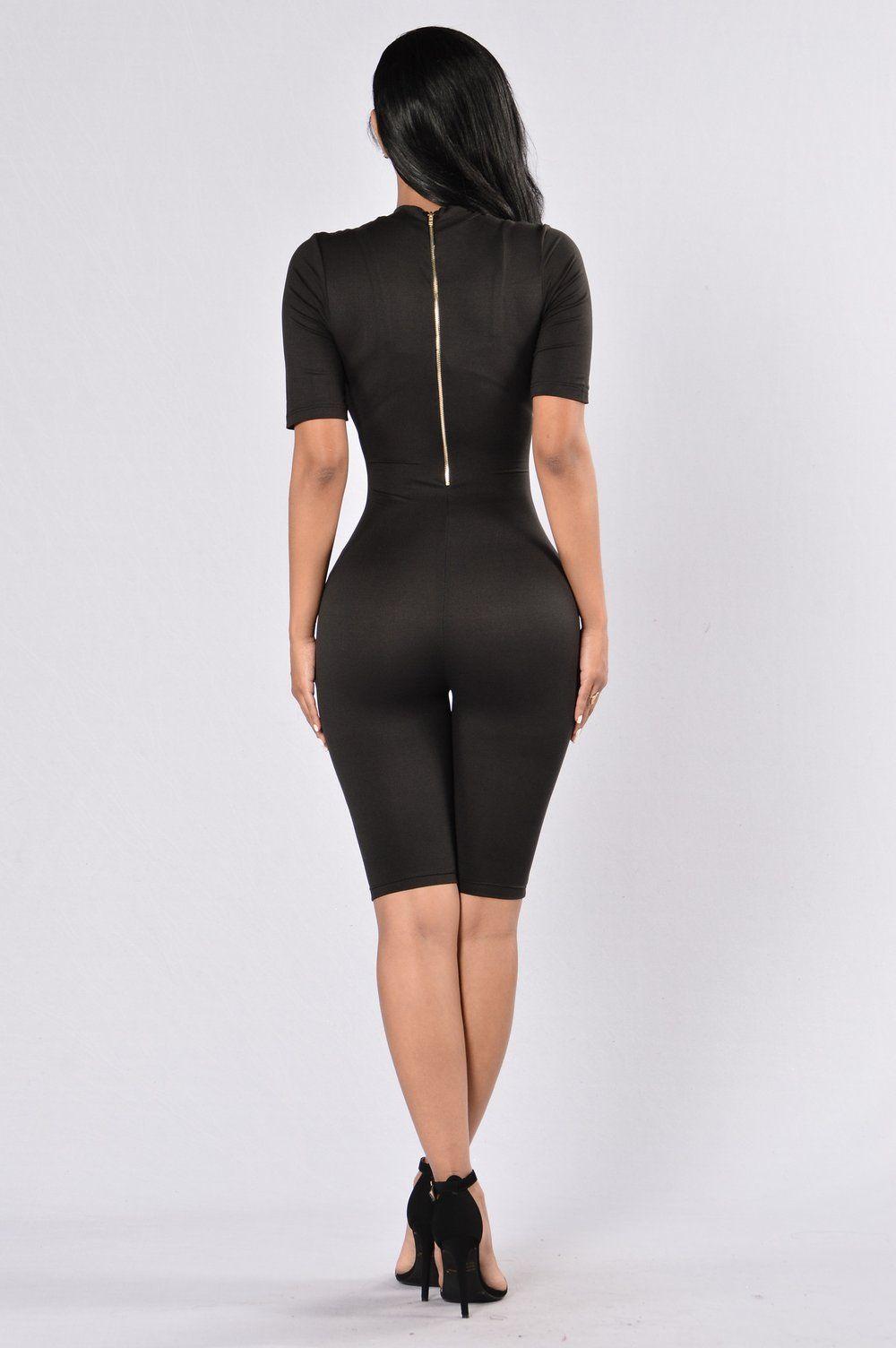 Waylay Jumpsuit - Black | sewing patterns | Pinterest