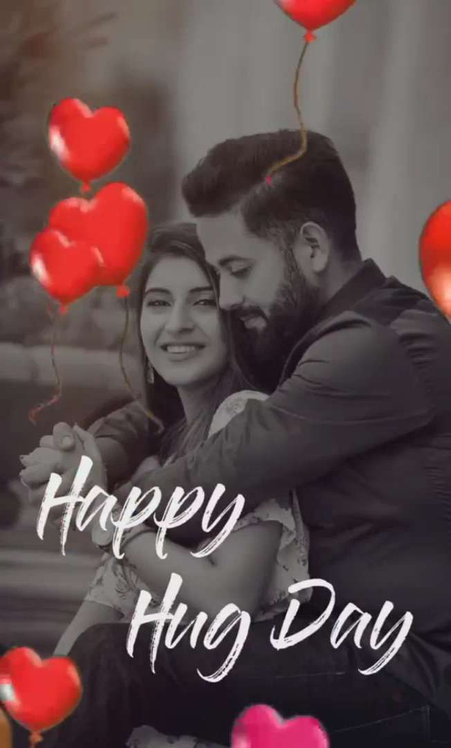 Hug Day Special Status Whatsapp Status in 2020 | Happy hug ...