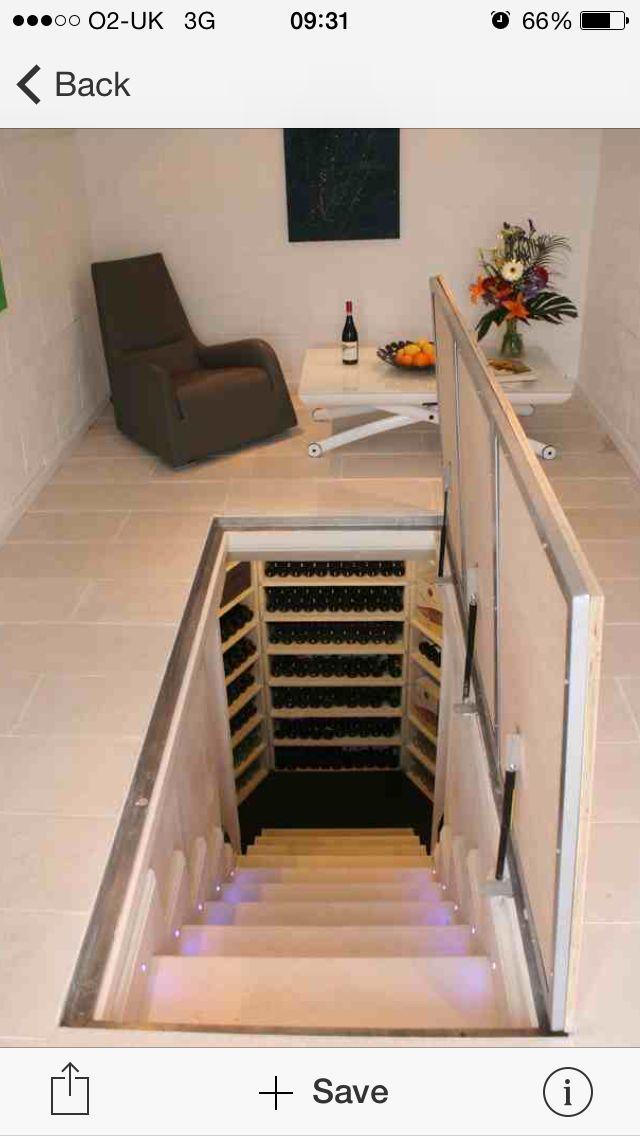 Great ideas for wine storage
