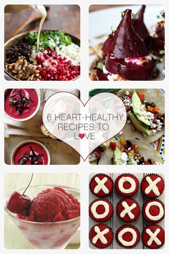 heart healthy valentines day recipes valentinesday httpm0veco - Healthy Valentine Desserts