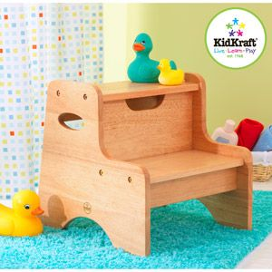 Outstanding Kidkraft Two Step Stool Natural Baby Childrens Step Frankydiablos Diy Chair Ideas Frankydiabloscom