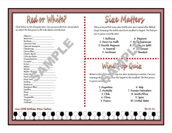 image about Wine Tasting Games Printable referred to as Wine-Tasting Printable Bash Online games - Gals Evening Out