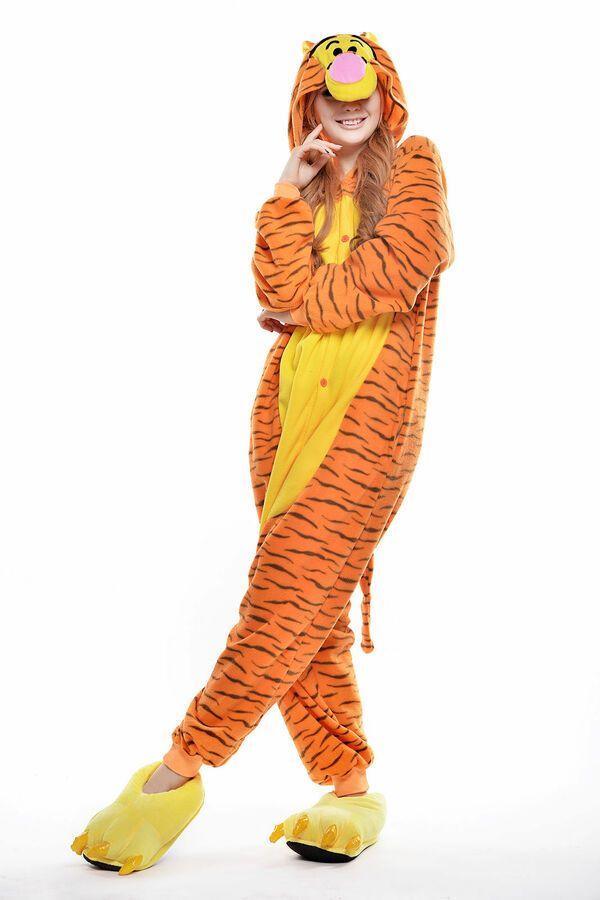 7a79f2554c Unisex Adult Winnie The Pooh Flannel Onesis11 Cosplay Costume Kigurumi  Pajamas Pooh Flannel Winnie