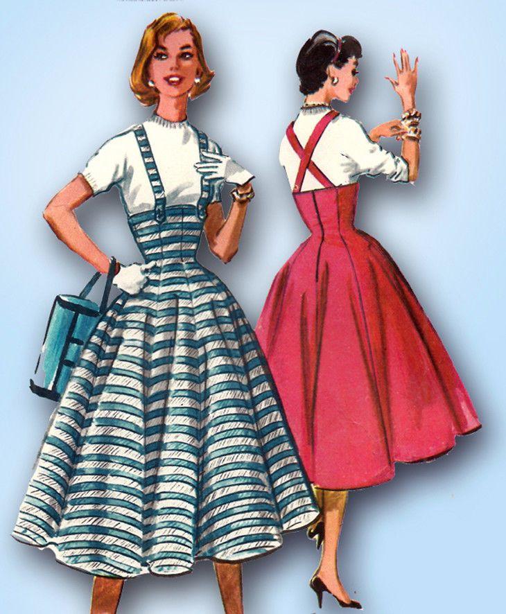 high waist dress sewing pattern
