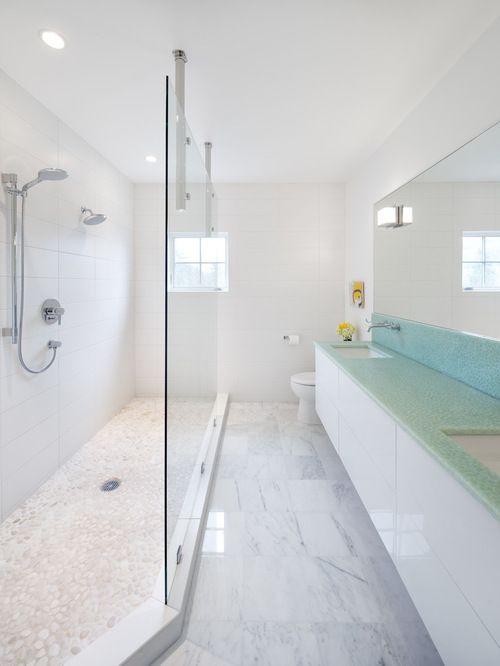 Idee e Foto di Stanze da Bagno Long Narrow Shower | Badrum | Pinterest