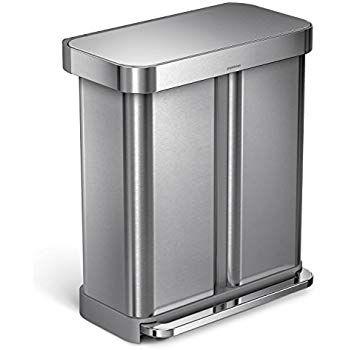 Best Simplehuman 58 Liter 15 3 Gallon Step Can Liner Pocket 640 x 480