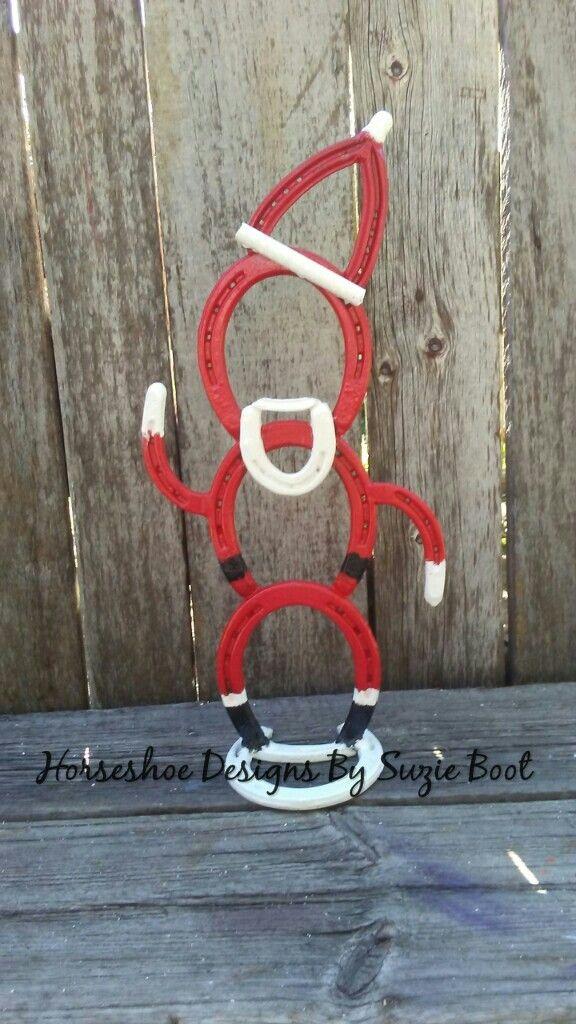 Christmas Horseshoe Art.Pin By Kelly Ann Sephton On Christmas Horseshoe Crafts