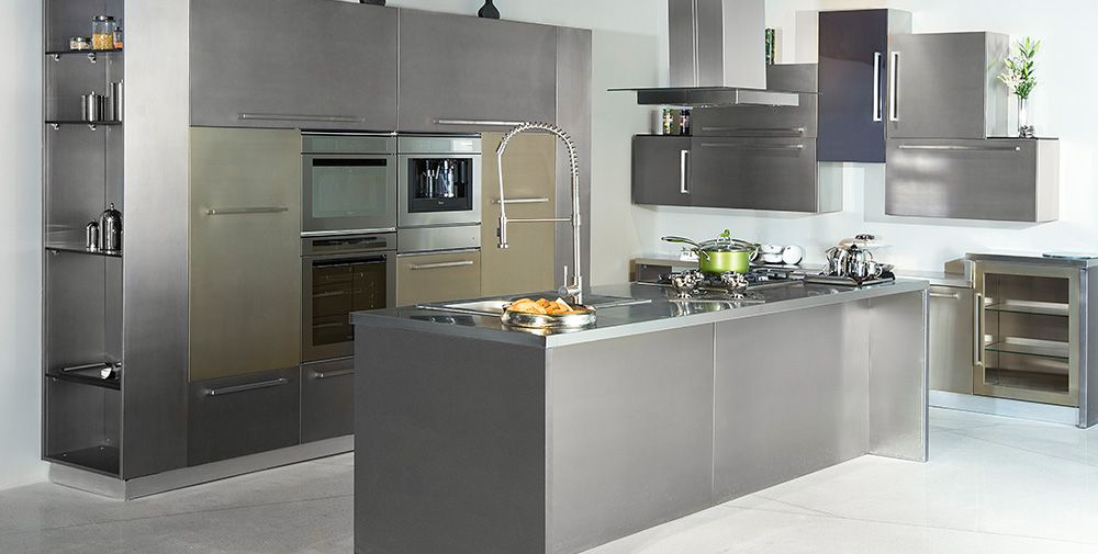 This L Shaped Modular Kitchen Design Offers A Versatile And Contemporary  Look To The Kitchen Interiors