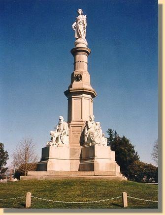 U S Civil War Photographs Gettysburg Soldiers S National Monument Gettysburg Lincoln S Gettysburg Address National Monuments