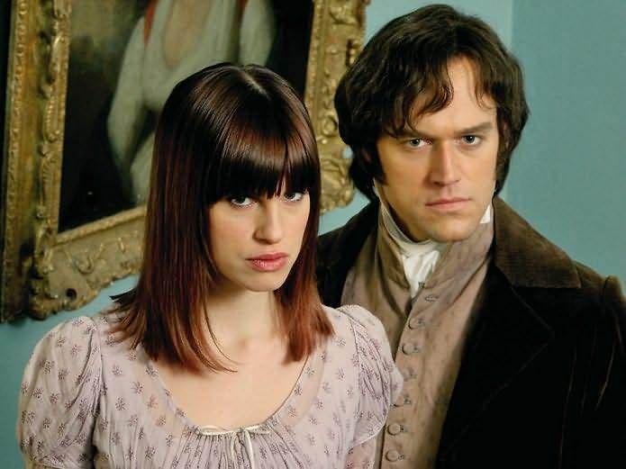 Darcy (Elliot Cowan) & Amanda (Jemima Rooper) in Lost in Austen...this is one of my favs!!!
