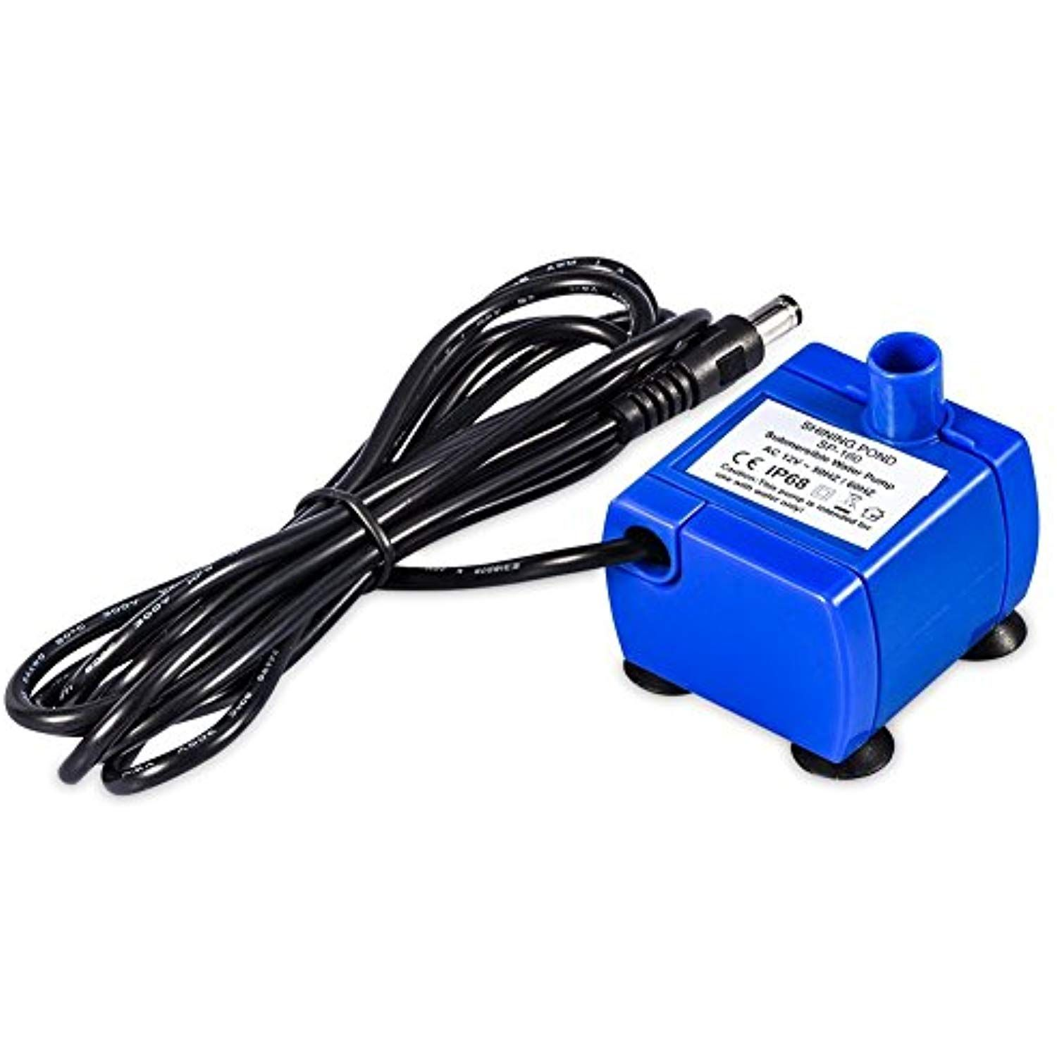 YOUTHINK Submersible Water Pump for Pet Fountain with 5