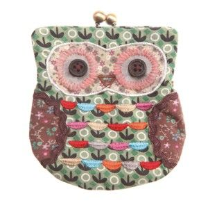 Images Of Green Owl Shaped Purse Accessories Owls Forest Friends By Wallpaper