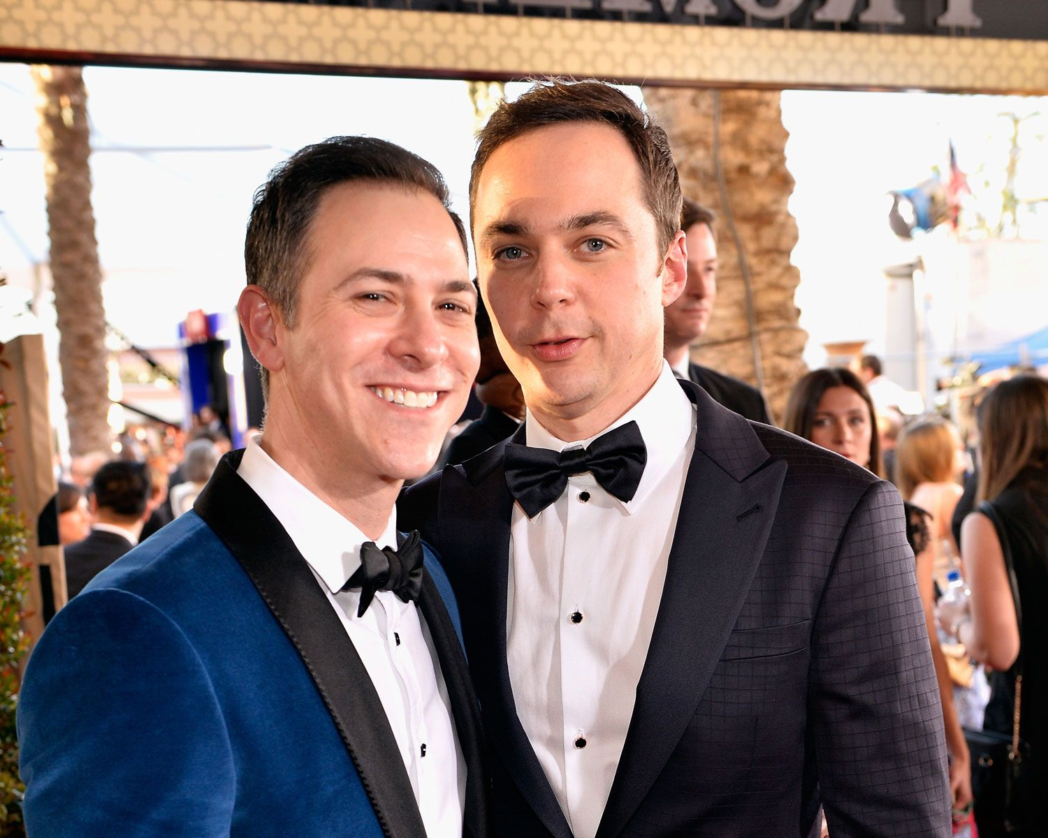 Jim Parsons Wedding Photos Are Insanely Cute See More Here Jim Parsons Celebrity Couples Cutest Couple Ever