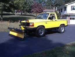 Cool Plow Truck Ford Ranger Plow Truck Snow Plow News Movin