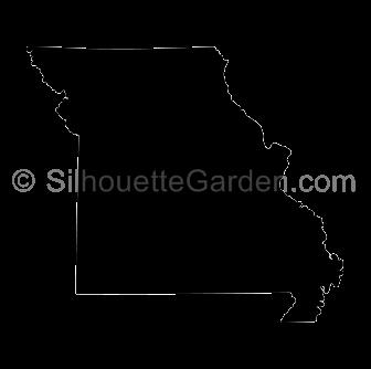 Missouri Silhouette Silhouette Silhouette Clip Art Silhouette Free