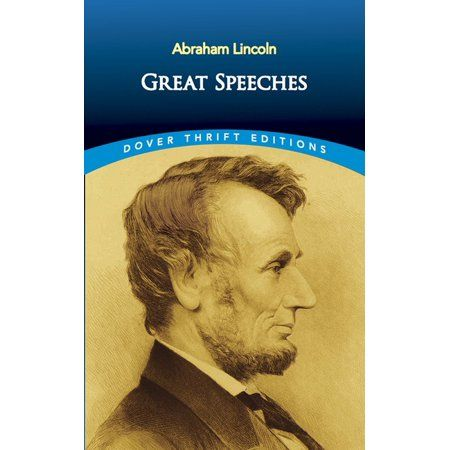 Dover Thrift Editions Great Speeches Paperback