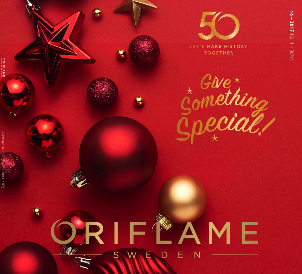 ORIFLAME COSMETICS CATALOGUE 16 OF 2017 UK USA Christmas