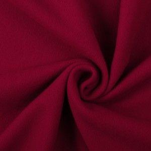 Italian Red Wool Cashmere Coating Mood Fabrics Cashmere Coat Red Wool