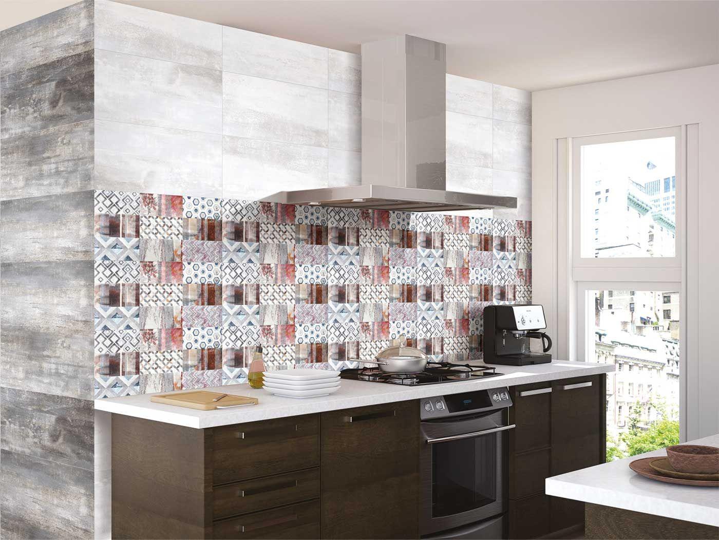 47 Unique Metallic Tiles Kitchen Tiles Design Metallic Tiles