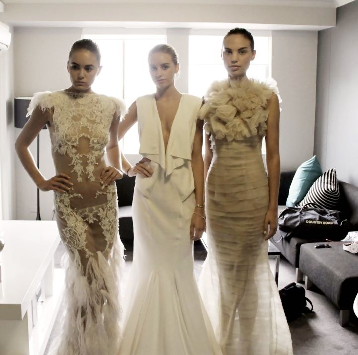 Couture Wedding Gowns Sydney: Leah Da Gloria Couture 2012- Exciting New Sydney Based