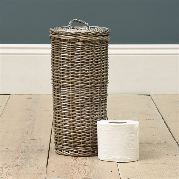 Toilet Roll Storage Basket The Cotswold Company Storage Baskets Toilet Roll Storage