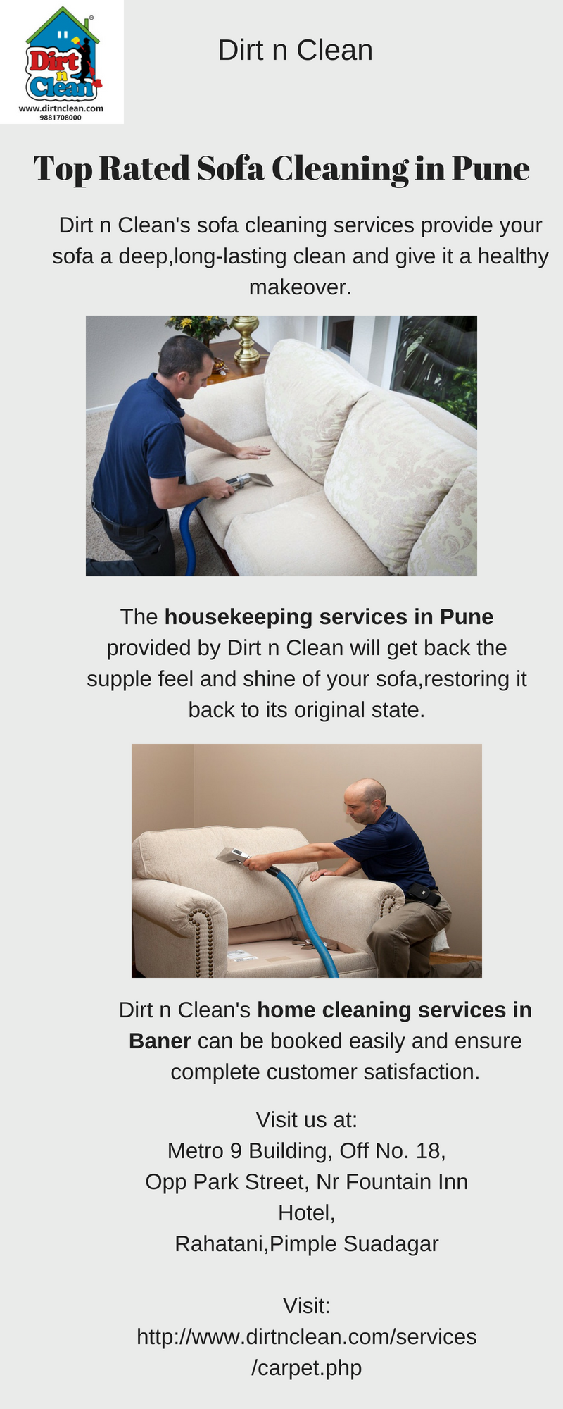 Top Leather Sofa Cleaners Graysonline The Dirt N Clean Is Most Popular Rated Cleaning Company In Pune With Best Quality Services Available For All Kind Of Such As Fabric