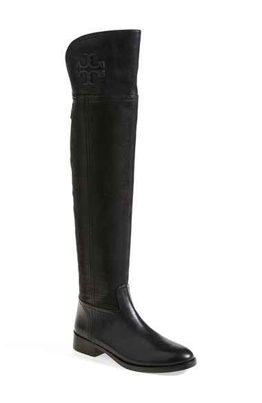 de17bb7d97b Free shipping and returns on Tory Burch  Simone  Over the Knee Boot (Women)  at Nordstrom.com. Immaculate topstitching outlines a soaring over-the-knee  boot ...