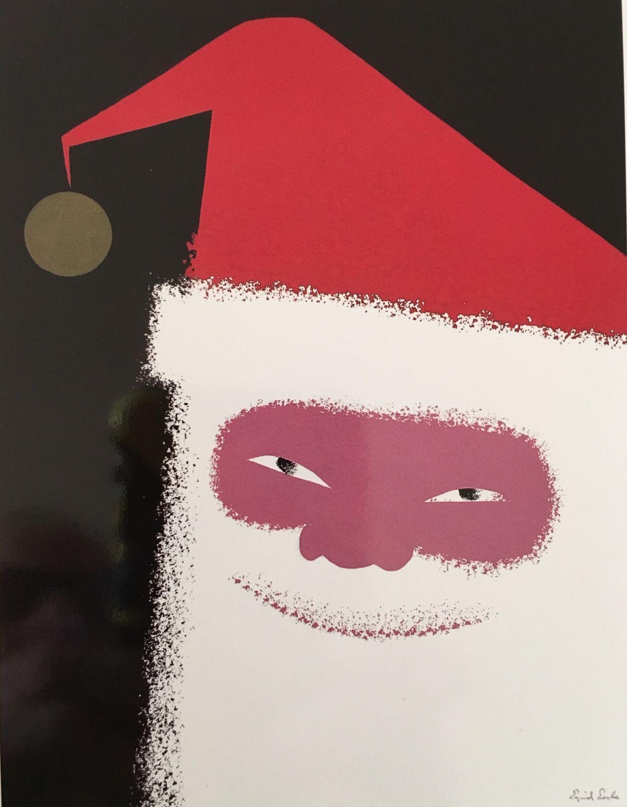 Eyvind Earle | Christmas card art, Card art, Christmas cards