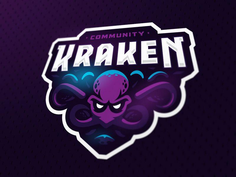 Kraken Game Logo Design Team Logo Design Kraken Logo