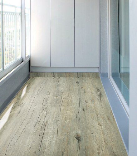 Light Oak Plank Wood Self Stick Adhesive Vinyl Floor Tiles: Peel & Stick Self-adhesive Wood Pattern PVC