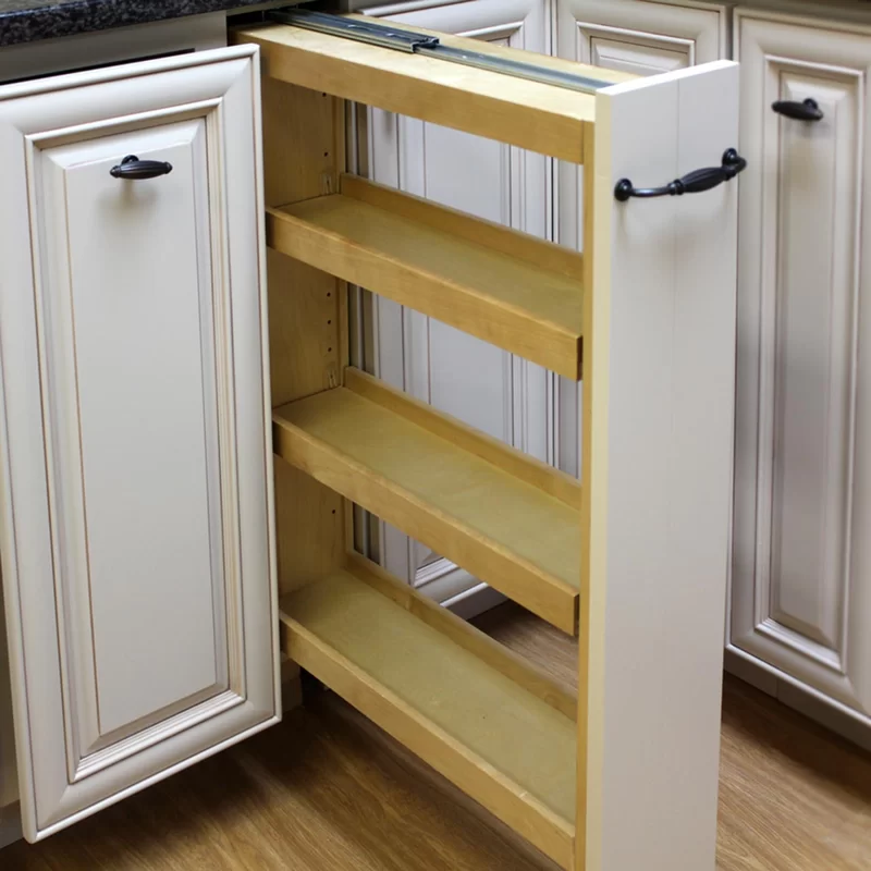 Charlize Pull Out Pantry In 2020 Kitchen Cabinet Storage Pull Out Kitchen Shelves Pull Out Pantry