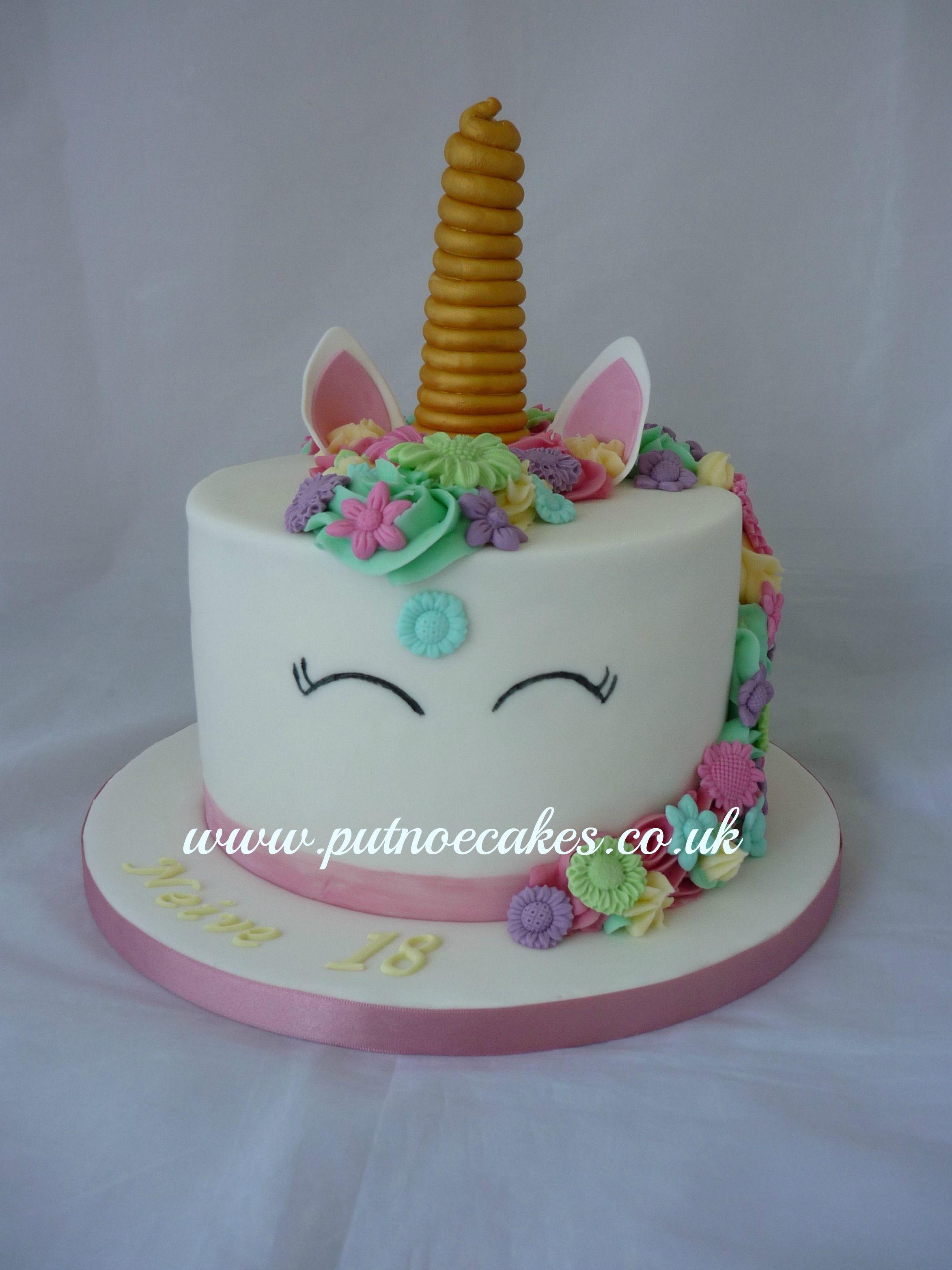 Unicorn Cake Pastel Colours Sweet Delights Unicorn