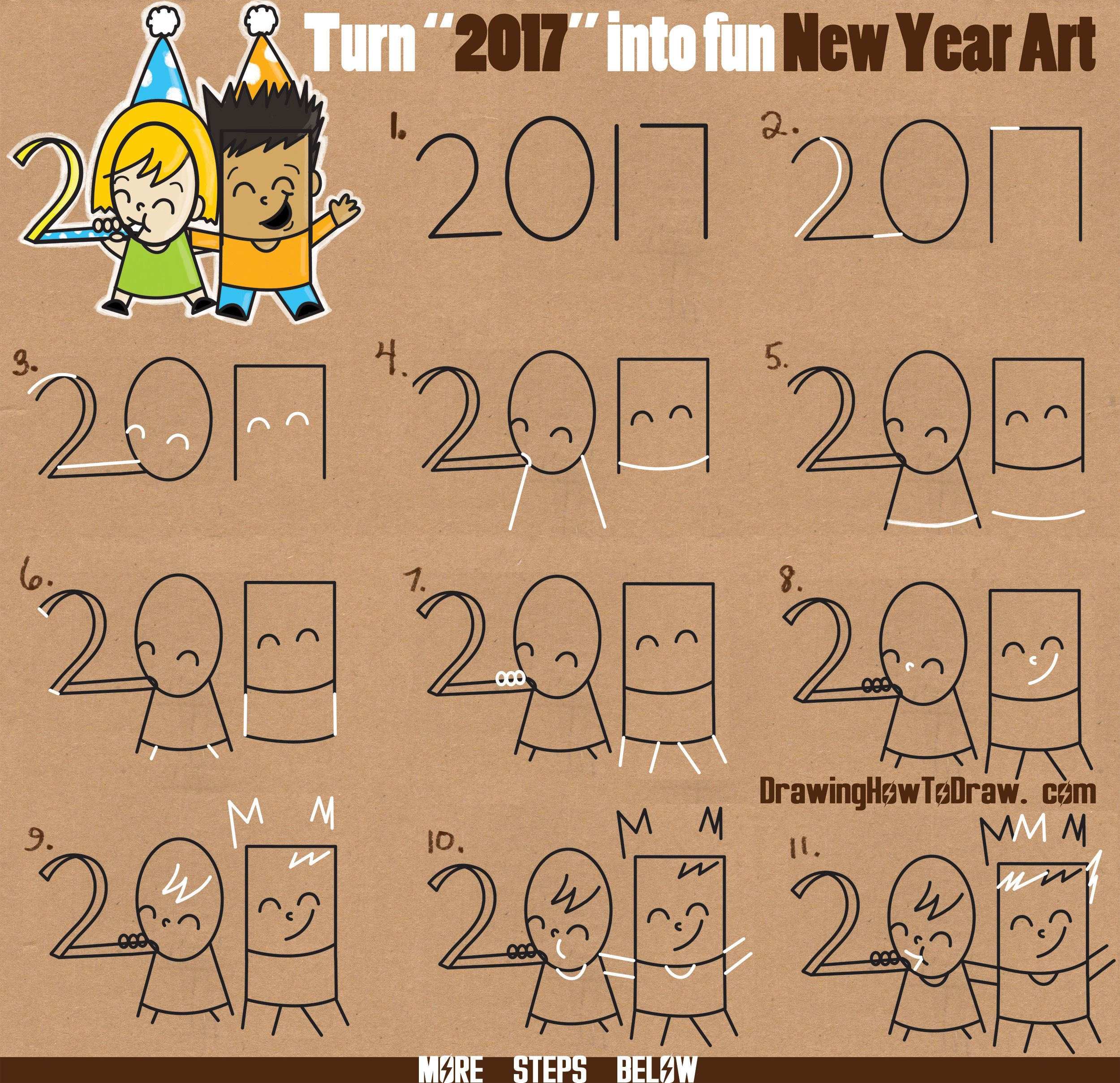 7 letter words for draw something how to draw new years new year word of 25206