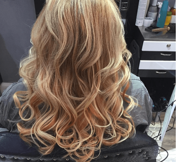 25 Rose Gold Hair Highlights Ideas From Instagram Rose Gold Hair