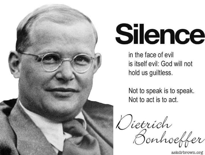 Dietrich Bonhoeffer Bonhoeffer Quotes Dietrich Bonhoeffer Quotes Dietrich Bonhoeffer